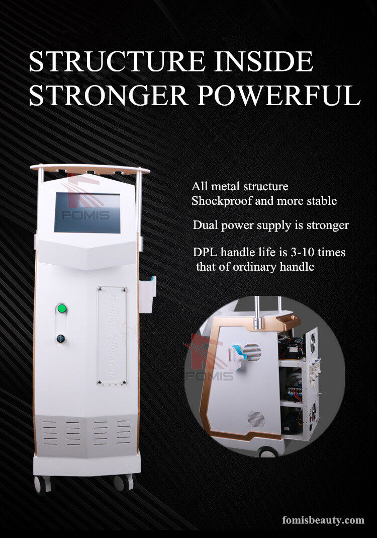 Best Painless DPL hair removal tattoo removal laser RF beauty machine