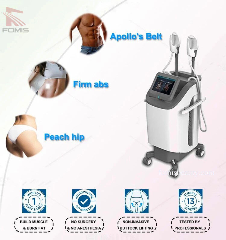 HI-EMT Electromagnetic Muscle Stimulation Cellulite Treatment Body Shaping Machine