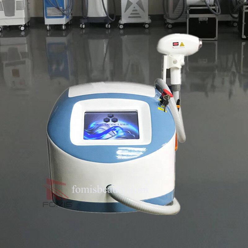 Portable 808nm diode laser hair removal Salon & Clinic beauty machine