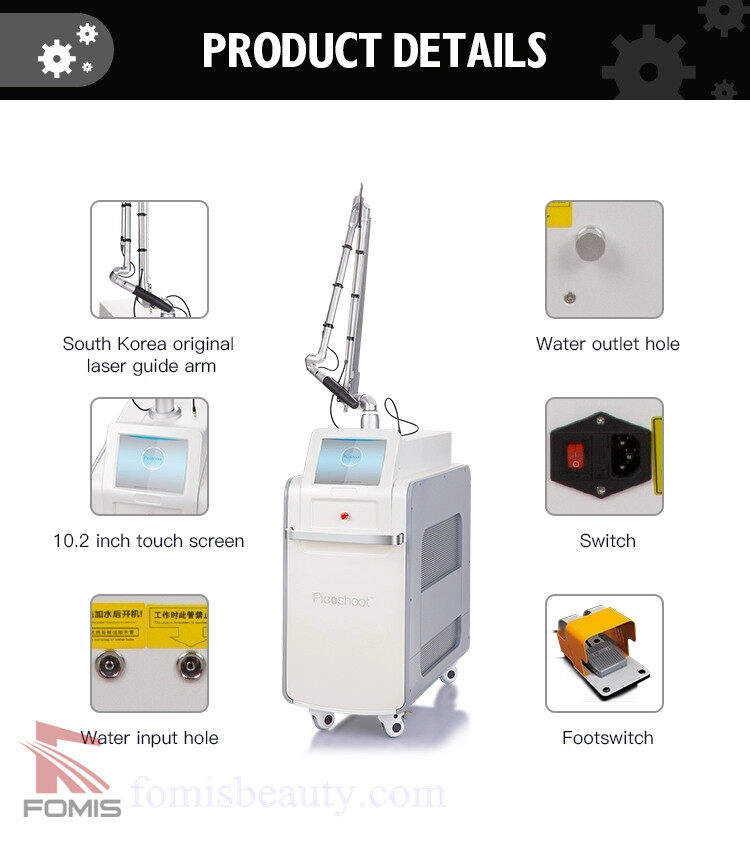 Picoway tattoo removal laser picosecond nd yag laser Beauty Machine