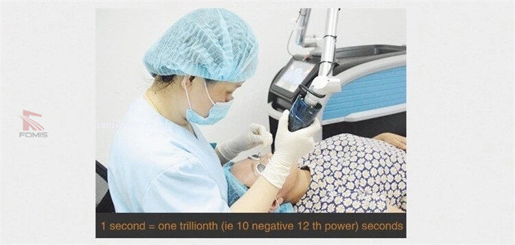 Freckle Removal Picosecond Laser for all Colors Tattoo removal Laser Machine