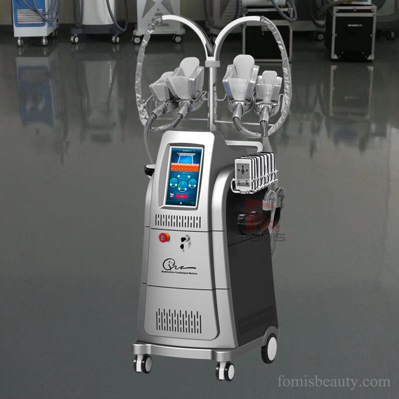 4 Handles coolsculpting cryolipolysis fat freezing 40k cavitation machine
