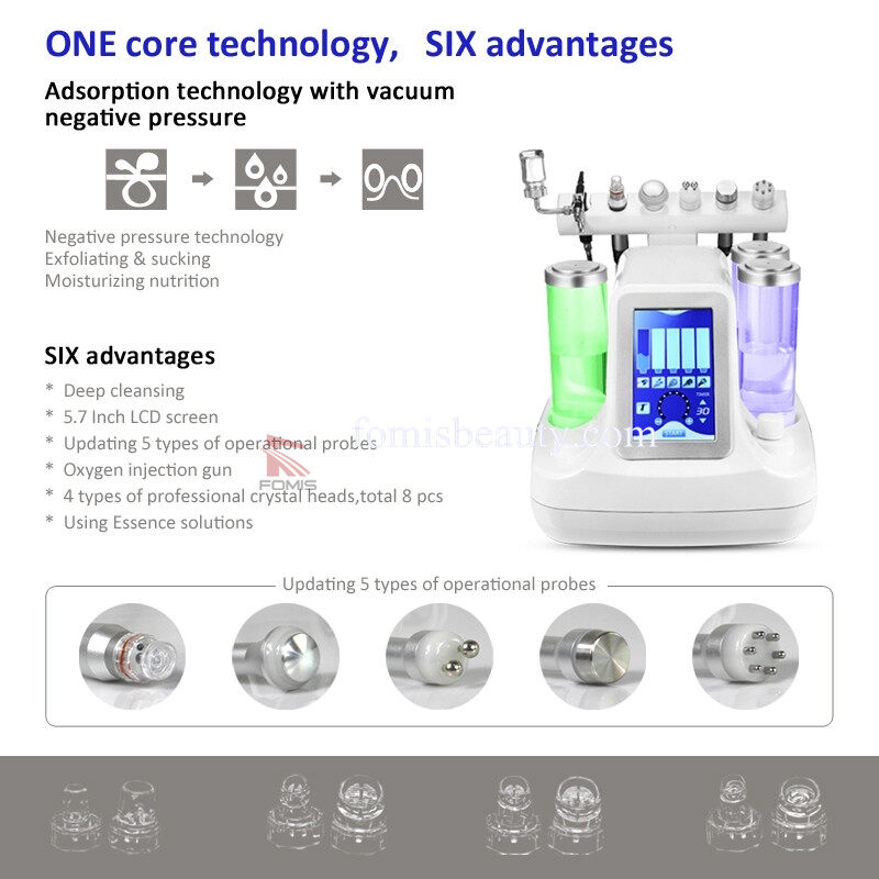 6 in 1 Hydra oxygen facial care Beauty Device