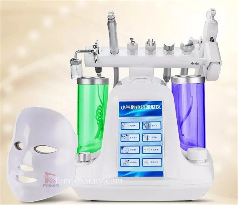 8 IN 1 hydra facial moisturizer oxygen jet Small bubbles machine