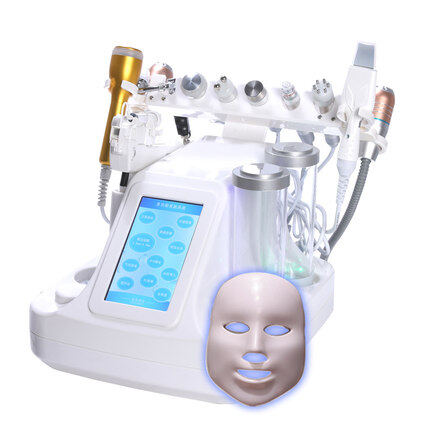 12 IN 1 Hydra facial vacuum cleaner deep pore cleansing oxygen jet peel facial machine