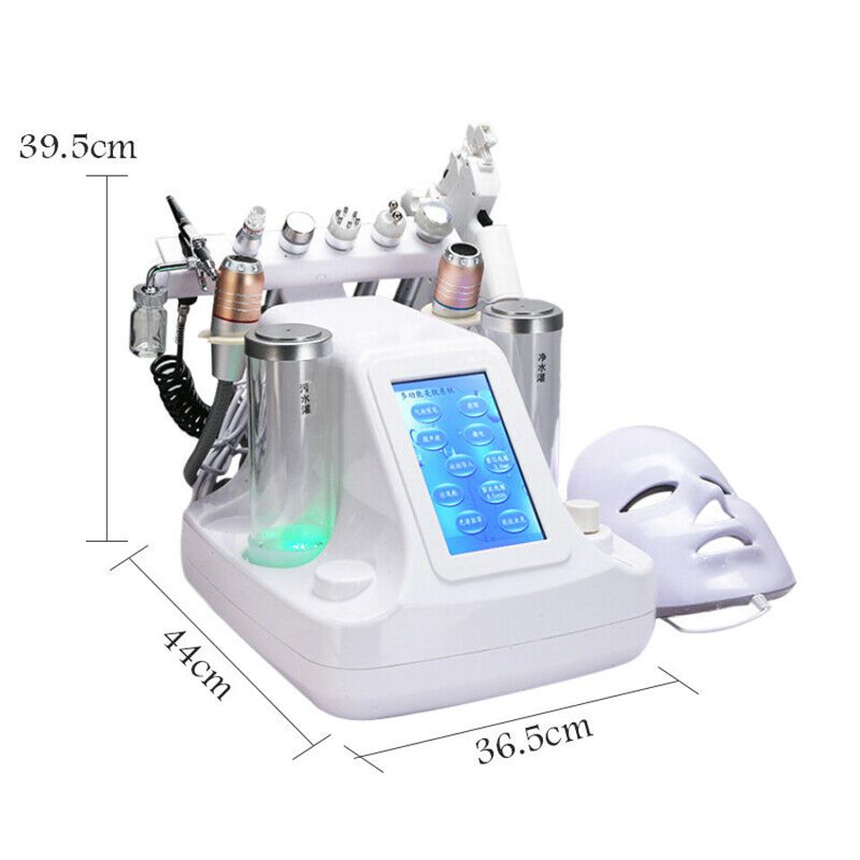 12 heads Hydra facial machine
