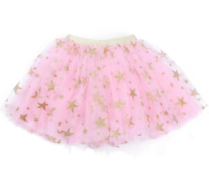 Fashion Baby Girl Sparkle Star Tutu Sirt Infant Toddler Ruffles Elastic Waist Tulle Skirt Christmas Costumes