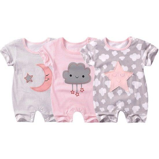 Baby Cotton Cartoon Romper