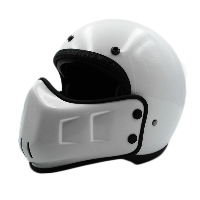 DOT Motorcycle Helmet Open Face w//Mask Leather Helmet for Street Bike Cruiser