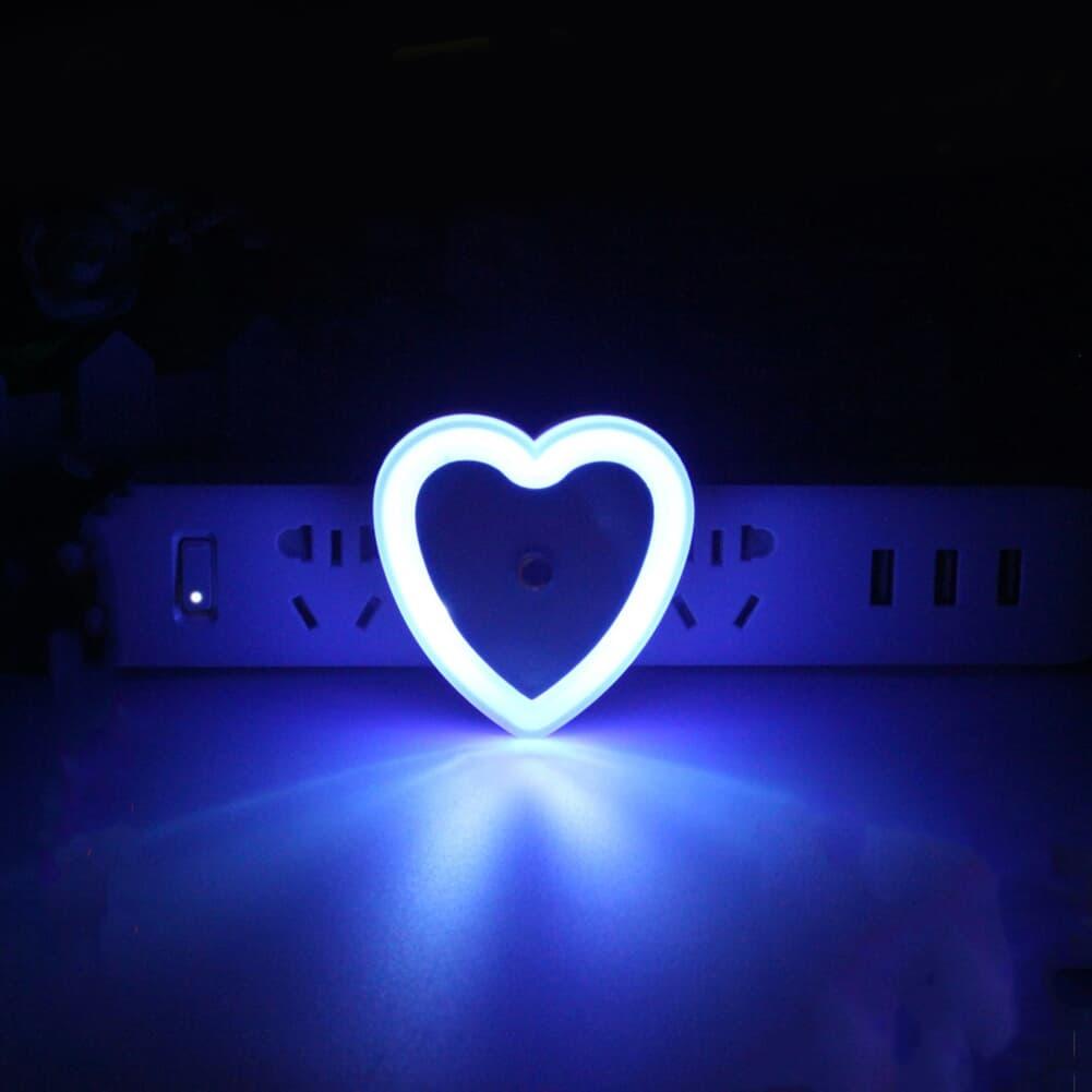Mini Heart Light Sensor Control Led