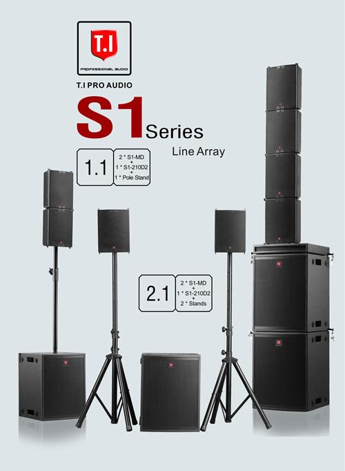 S1 Series Active Mini Line ArrayS1 Series Active Mini Line Array