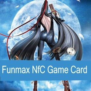 FunMax 8PCS Handmade NFC games card for Switch Bayonetta 2 NFC DLC [ns]
