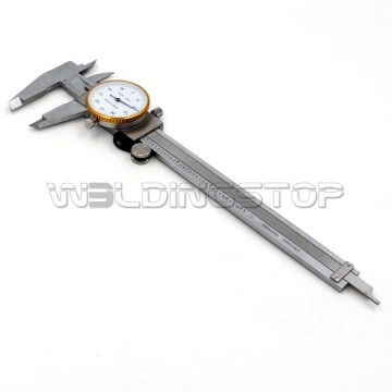 6 inch Dial Panel Caliper Stainless Steel Gauge body full standard reading