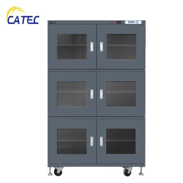 Electronic Dry Cabinet Humidity Control Storage 1436L 1~5%RH N2 purging with alarming and data recorder DM3-UN1436E-6-RB