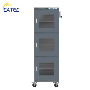 Electronic Dry Cabinet Humidity Control Storage 718L 1~5%RH N2 purging DM3-UN718E