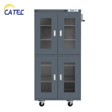 Electronic Dry Cabinet Humidity Control Storage 870L 1~5%RH N2 purging with alarming and data recorder DM3-UN870E-RB