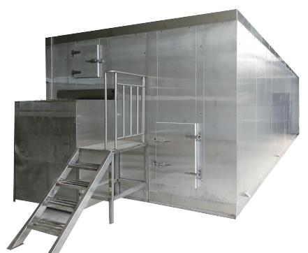 fluidized bed freezer