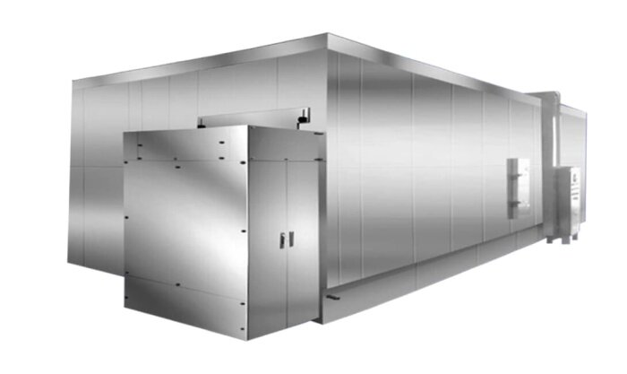 spiral freezer, iqf freezer