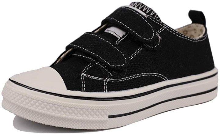 Kids adjustable strap lightweight shoes