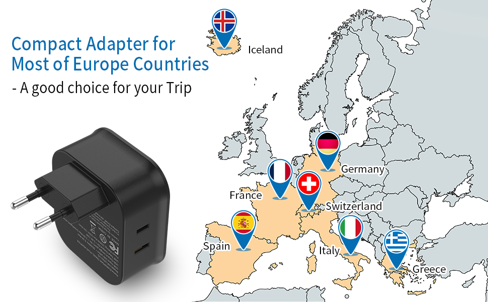 france power adapter