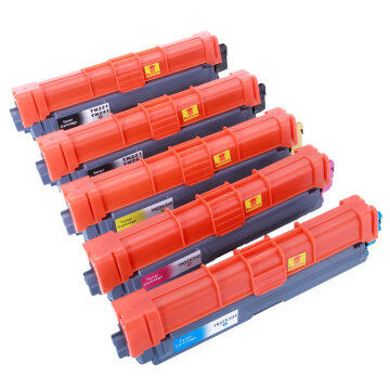 5pcs TN221 Toner Cartridge 2BK/1C/1M/1Y for Brother