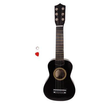 "21"" Acoustic Guitar Pick String Black"