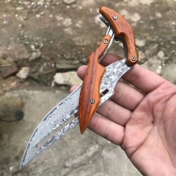 2019 New VG10 Damascus Knives tactical hunting mechanical folding knife fixed blade outdoor camping survival EDC pocket defense tools