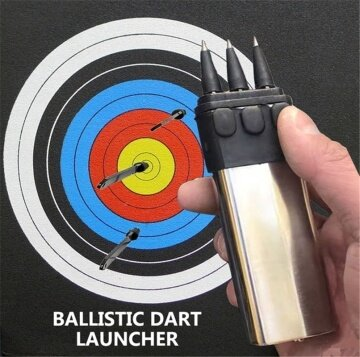 NEW PRODUCT BALLISTIC DART GUN LAUNCHER SHOOTING SHOOTER CONCEALED WEAPONS SELF DEFENSE DARTS EDC WEAPON CHRISTMAS GIFT