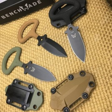 benchmade 175 Neck Knives Outdoor tools outdoor self-protection multi-function survival small straight camping multi-function survival knife