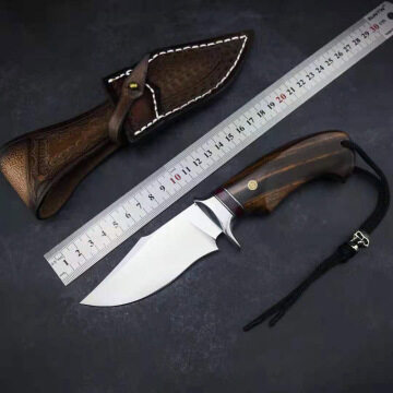 Mini Wasp Boy Walkabout Outdoor Camping Tactics High Hardness Survival Home Fruit Small Straight Knife