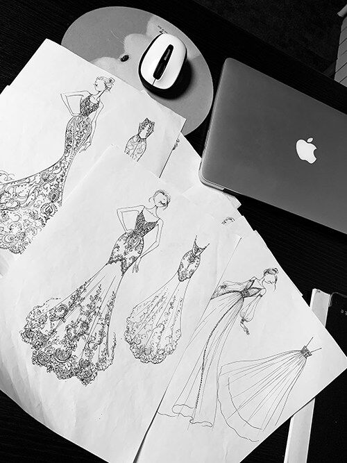 Victoriamo Wedding dress into reality