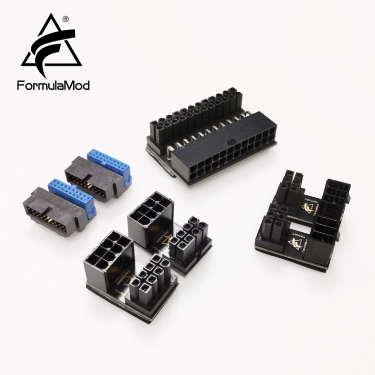 FormulaMod interface direction changer, for Motherboard ATX24Pin / graphics card power supply interface / Motherboard Usb3.0