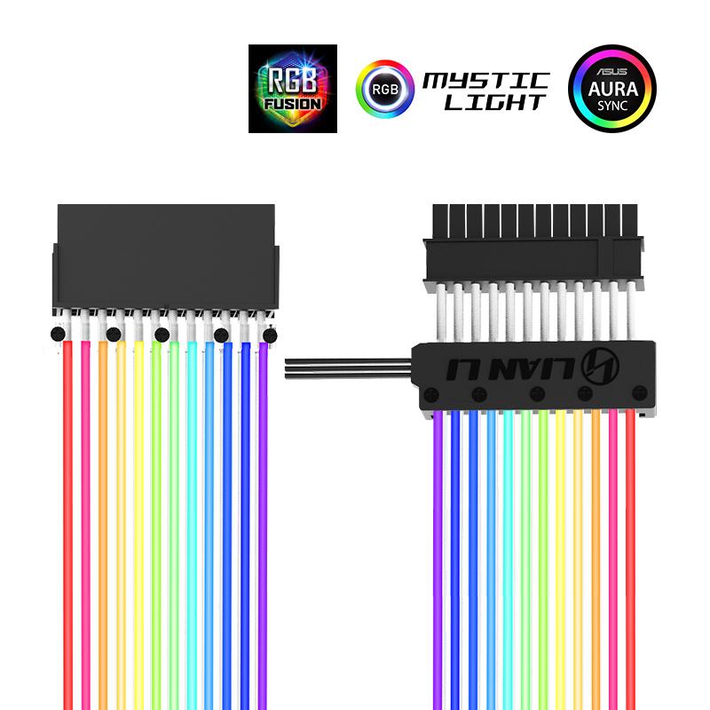 Lian Li Strimer 24 Strimer 8 5v Rgb Extension Cables