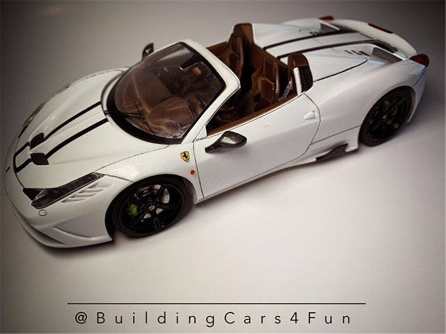 1/24 Ferrari 458 speciale(Build by buildingcars4fun)