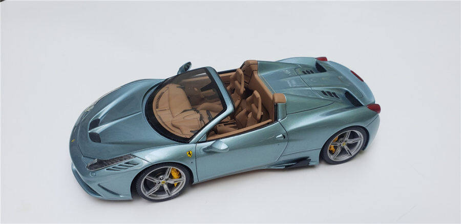 1/24 Ferrari 458 speciale(Build by Chris Coller)