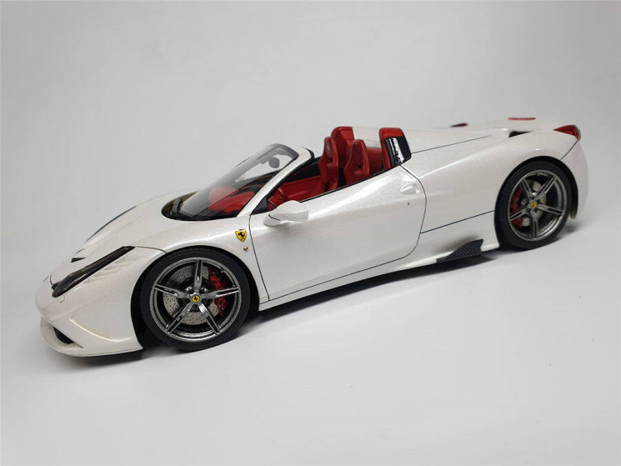 1/24 Ferrari 458 speciale(Build by RusoModel)