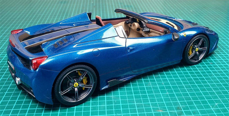 1/24 Ferrari 458 speciale(Build by SL MODEL)