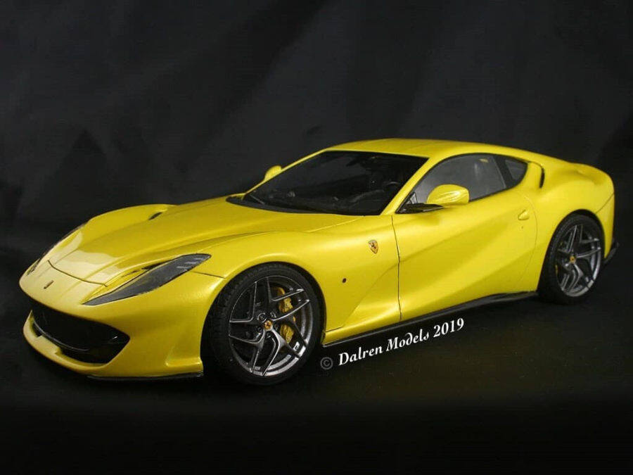 1/24 Ferrari 812 SuperFast (Build by Dalren Models)