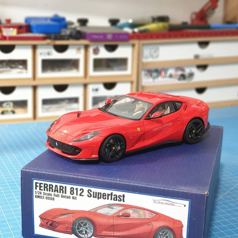 1/24 Ferrari 812 SuperFast (Build by ruso model)