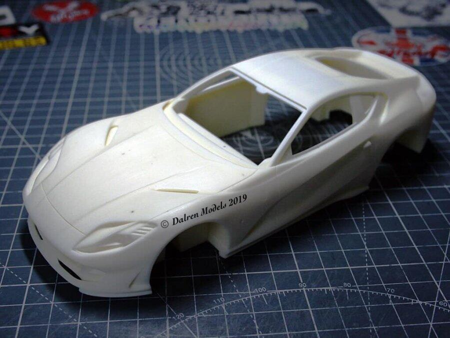 1/24 Ferrari 812 SuperFast all resin car body Build by Dalren Models