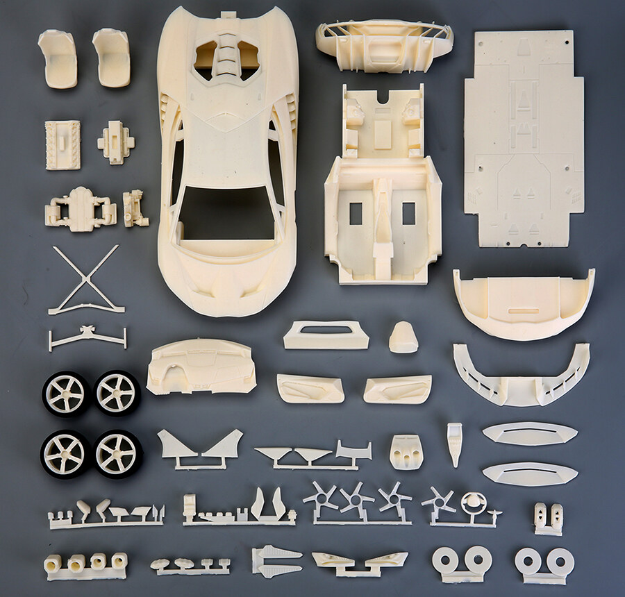 1/24 scale Lamborghini Centenario resin kit