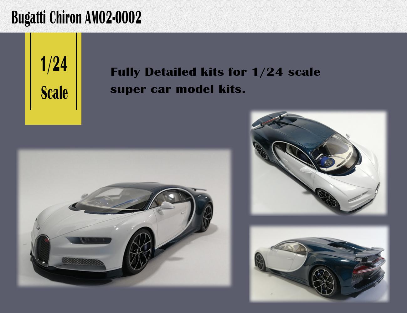 1/24 Bugatti Chiron