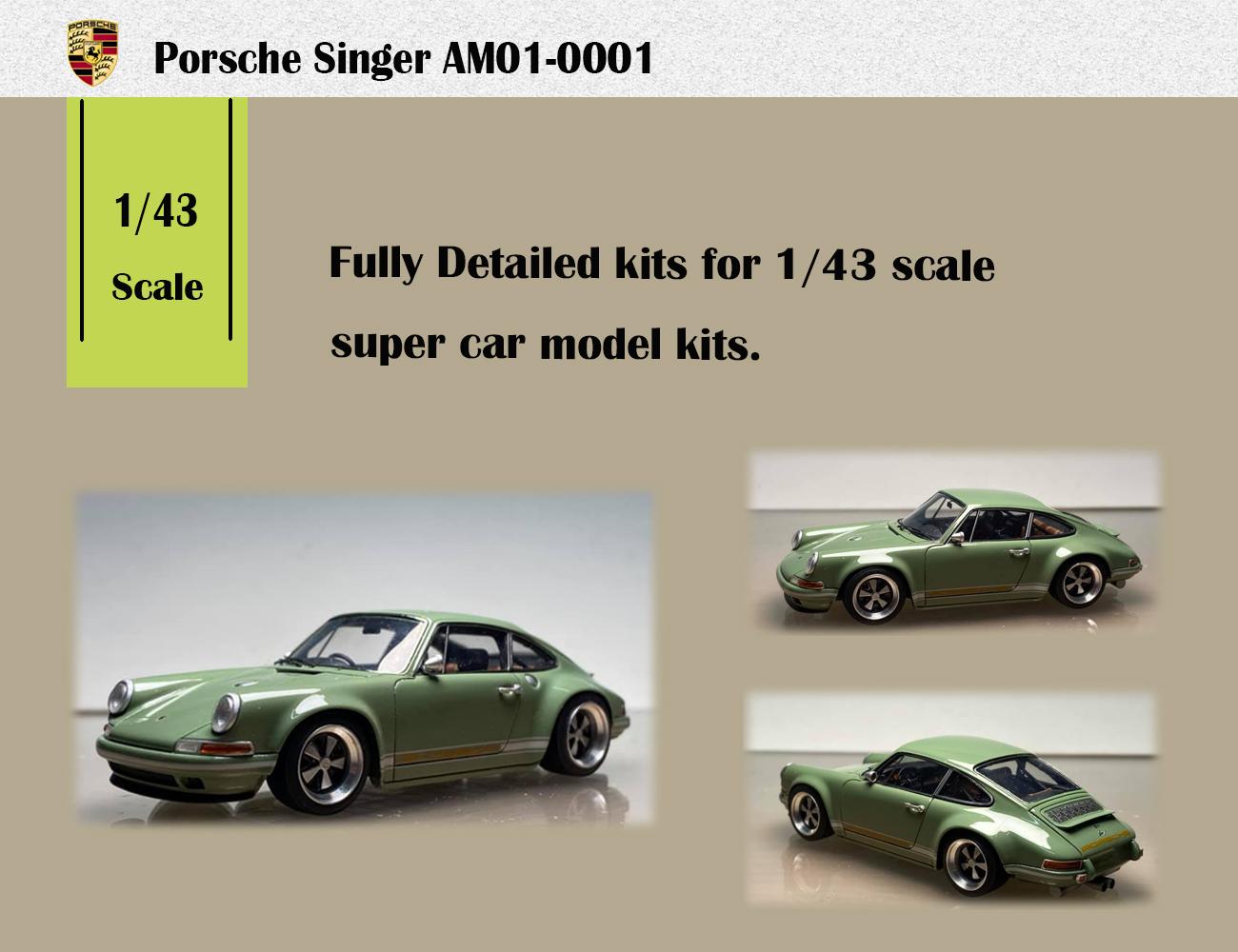 1/43 Porsche 911 Singer