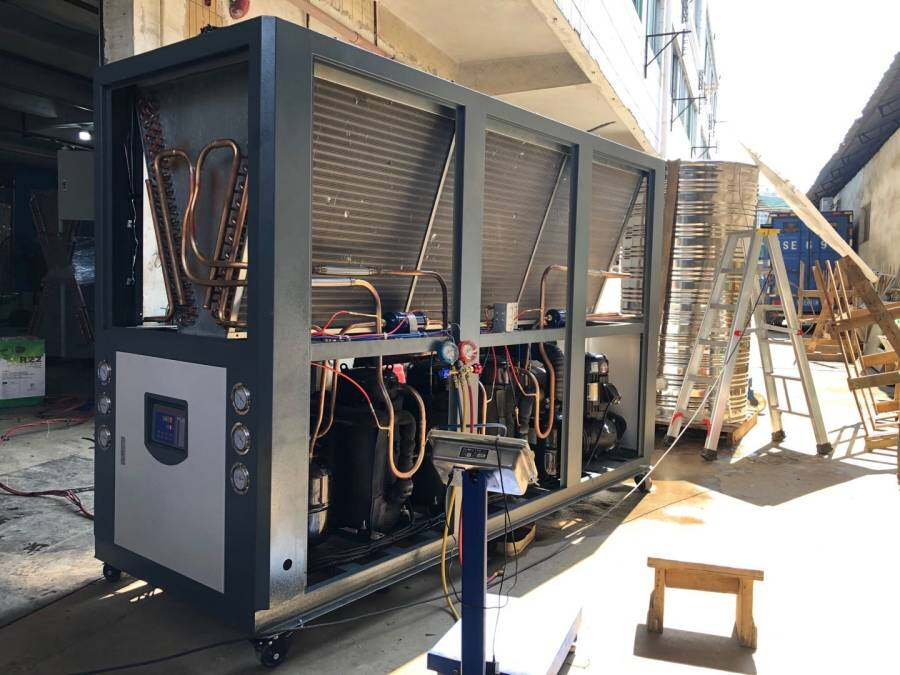 Quick solutions to some common faults of air-cooled chillers