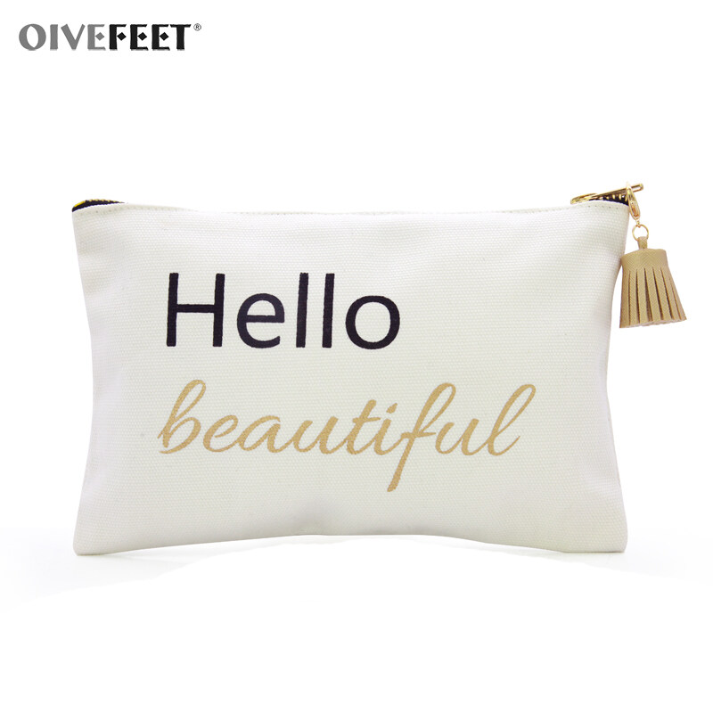 Well-liked Cotton Canvas Cosmetic Bag,Cotton Canvas Toiletry Bag,Cotton  JN06