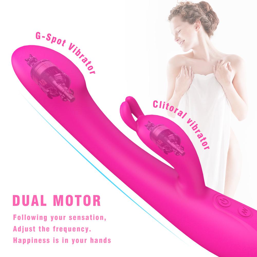 S-hand new sex shop product pudendal penis body massage toy lady rabbit vibrator couple vibrator