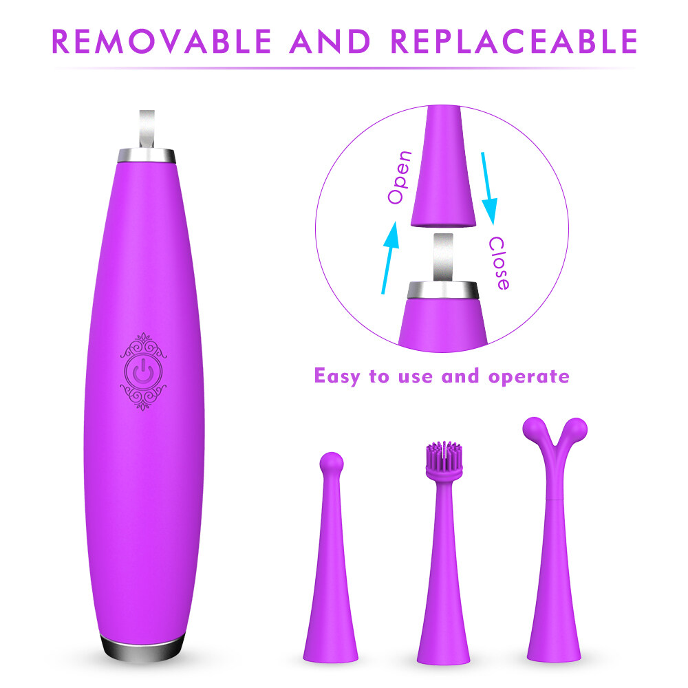 Adult Products 9 Modes G-spot Clitoris Dual Vibrating Stick Waterproof Multi-speed Vibrator