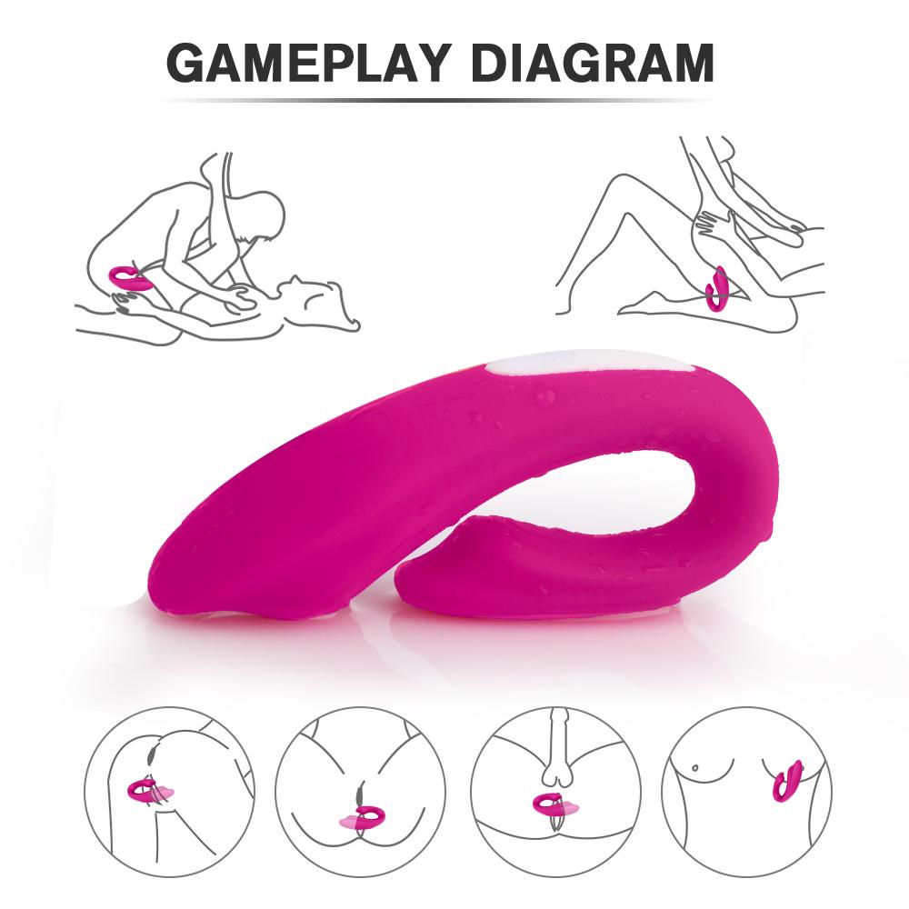 S-HANDE Vagina Clitoris G Spot Stimulate u vibe wireless Vibrator Women Couples Sex Toys Vibrator