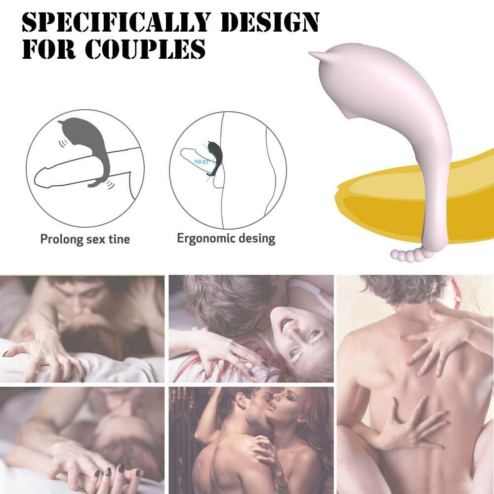 silicone rechargeable vibrating cock ring male penis masturbator sex toy