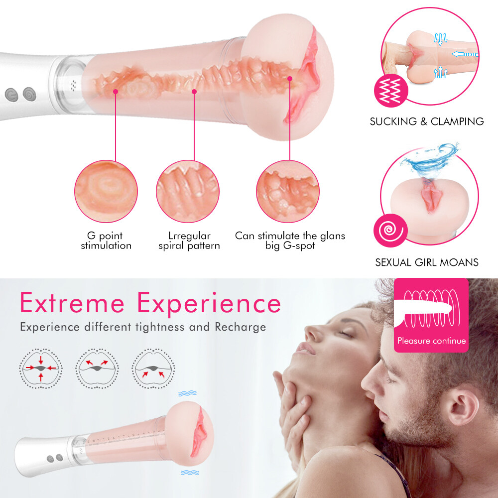 S-HANDE High Quality Penis Pump Dildo Enlargement Vacuum Pussy Cup Dick enlarger Pump for Male Masturbation